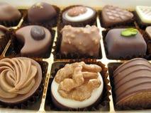 箱巧克力 免版税图库摄影