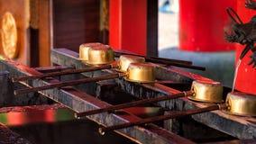 箱根寺庙 免版税库存图片