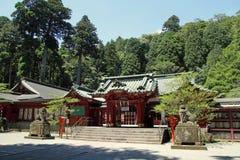 箱根寺庙 库存照片