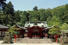 箱根寺庙 免版税图库摄影