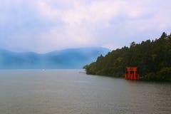 箱根湖 免版税库存图片