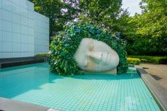 箱根,日本- 2017年7月02日:箱根露天博物馆在箱根 箱根露天博物馆是您能的地方 库存图片