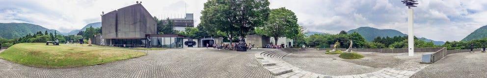 箱根,日本- 2016年5月25日:箱根露天博物馆是po 免版税库存照片