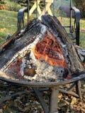 篝火和蛋白软糖 免版税库存图片