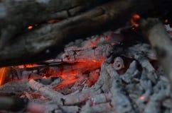 篝火接近2 图库摄影