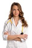 篡改护士年轻人 库存照片