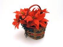 篮子圣诞节 库存照片
