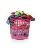 篮子坏的洗衣店 免版税库存照片