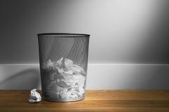 篮子垃圾 免版税库存图片
