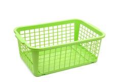 篮子塑料 免版税库存图片