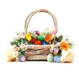 篮子复活节 免版税库存照片
