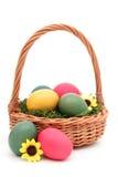 篮子复活节 库存图片