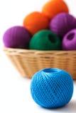 篮子工艺和缝合 免版税库存图片