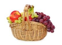 篮子果子 免版税图库摄影