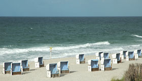 篮子海滩 库存照片