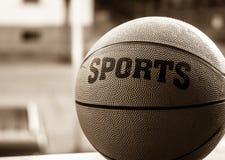 篮子球体育 免版税图库摄影