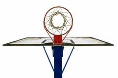 篮子球蓝球板 免版税库存照片