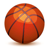 篮子球 图库摄影