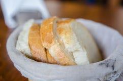篮子用面包 库存照片