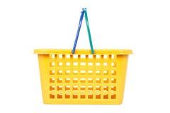 篮子空的购物 免版税库存照片