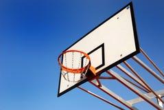 篮子篮球 免版税库存照片