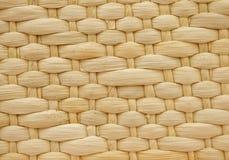 篮子编织的纹理 库存照片