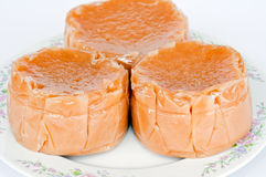 篮子蛋糕汉语 库存照片
