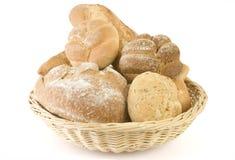 篮子面包 免版税图库摄影