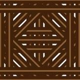 篮子/地板样式 向量例证