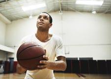 篮球体育娱乐活动消遣追求概念 图库摄影