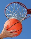 篮球使用 免版税库存照片
