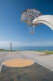 篮球公园 图库摄影