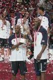篮球冠军世界 库存照片