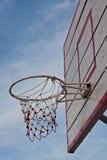 篮球净额 免版税库存照片