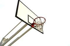 篮球净额 图库摄影