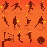 篮球向量 免版税库存照片