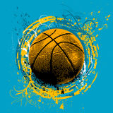 篮球向量 免版税图库摄影