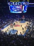 篮球在NewYork 库存照片