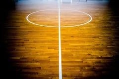 篮球场,如果例证 免版税图库摄影