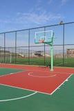 篮球场,如果例证 免版税库存照片