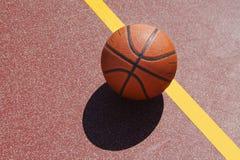 篮球场 免版税库存照片