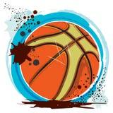 篮球坏的eps 免版税库存照片