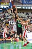 篮球块 图库摄影