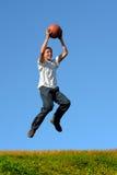 篮球培训 免版税库存照片