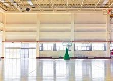 篮球大厅 免版税库存照片