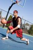 篮球天桥一滴 免版税库存图片