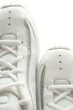 篮球对鞋子 免版税图库摄影