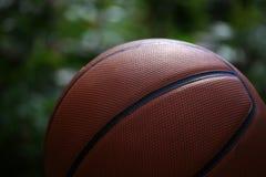 篮球庭院bokeh没人 免版税库存图片