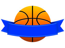 篮球徽标 库存例证