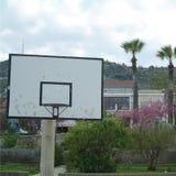 篮球操场在塞浦路斯 库存图片